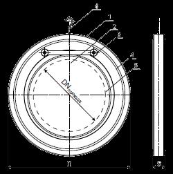 Технические параметры обратного клапана ЗОП