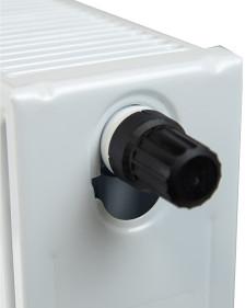 Встроенный термостатический клапан стальных панельных радиаторов Axis