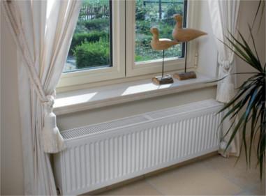 Стальные панельные радиаторы в интерьере фото