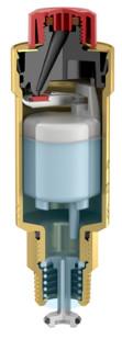 Как устроен автоматический воздухоотводчик Flamco flexvent