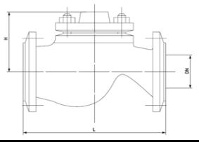 Технические параметры обратных клапанов 16кч9нж