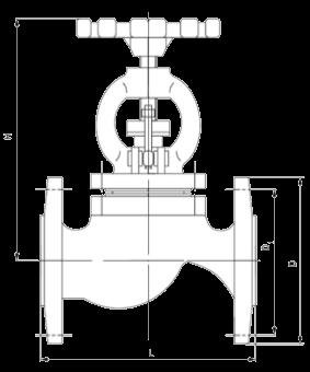 Технические параметры чугунных вентилей 15кч16нж